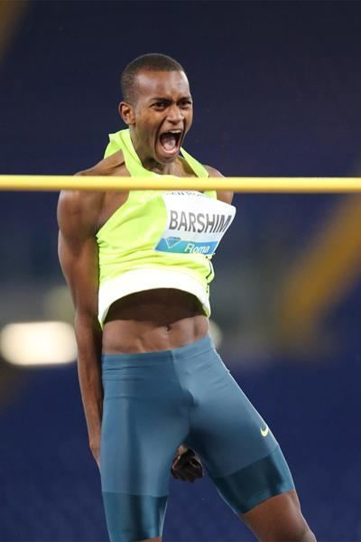 Mutaz Essa Barshim Barshim soars not shimmies over the bars in Rome IAAF