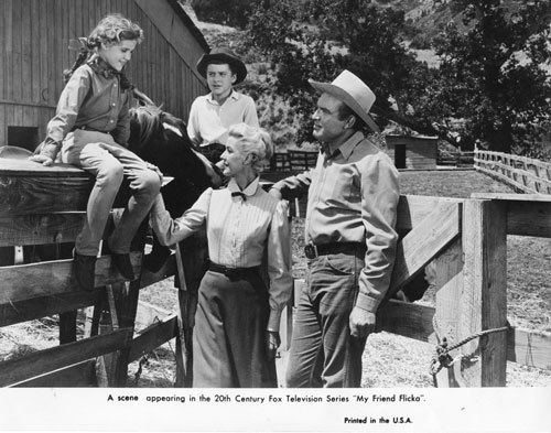 My Friend Flicka (TV series) The Cast and Crew of the Television Series My Friend Flicka