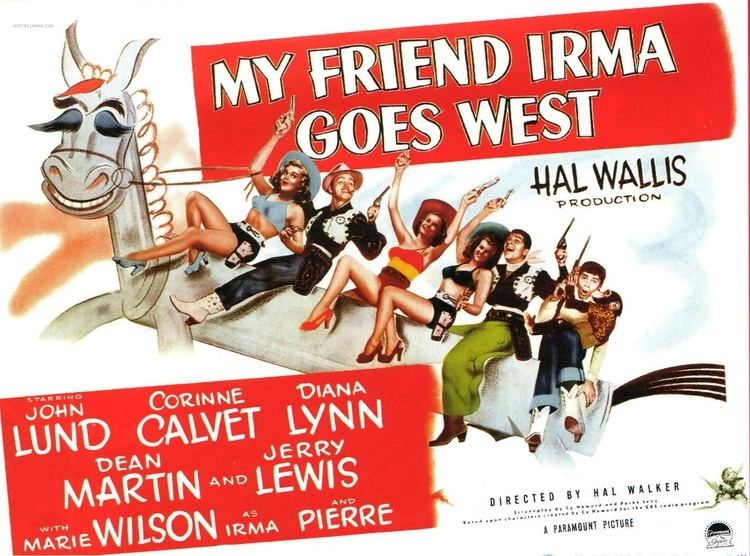 My Friend Irma Goes West Lobby Cards 11X14 MARTIN LEWIS MY FRIEND IRMA GOES WEST My