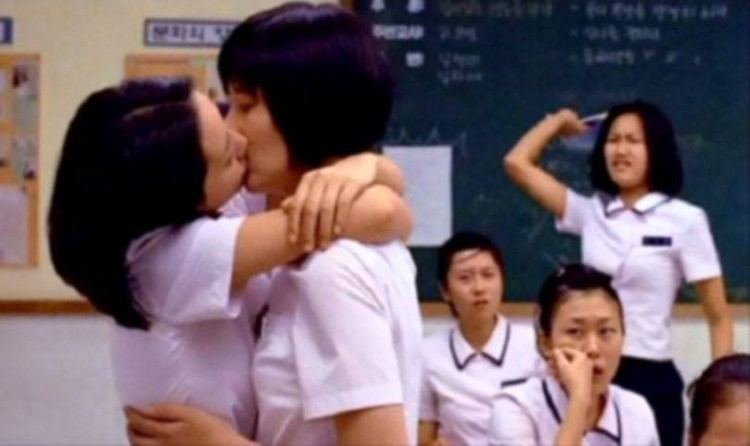 My Girlfriends Boyfriend movie scenes Caption A scene from the 1999 Korean movie Memento Mori