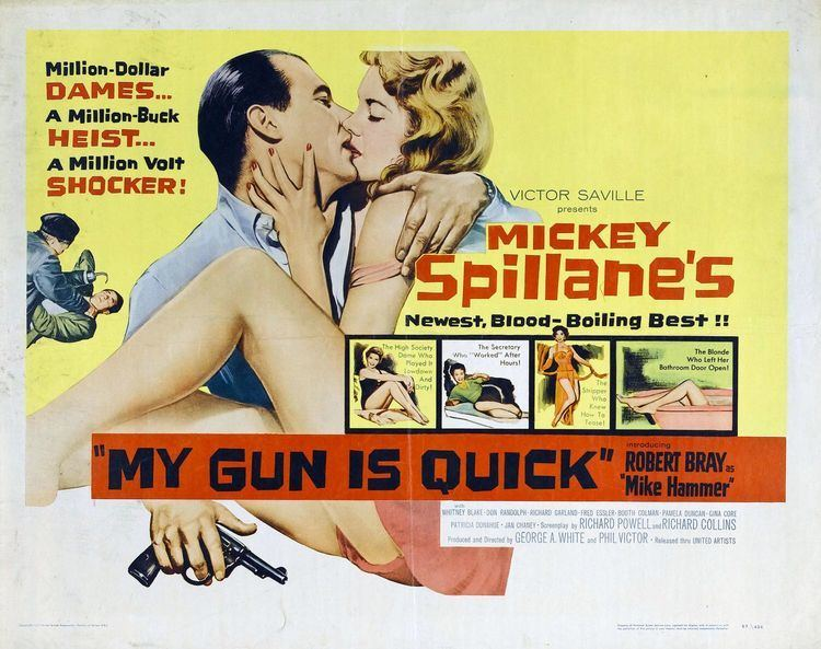 My Gun Is Quick (film) My Gun Is Quick 2 of 2 Extra Large Movie Poster Image IMP Awards