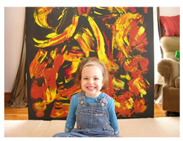 My Kid Could Paint That Amazoncom My Kid Could Paint That Anthony Brunelli Amir BarLev