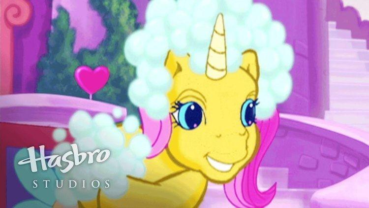 My Little Pony Crystal Princess: The Runaway Rainbow My Little Pony Crystal Princess The Runaway Rainbow Bubble Fight