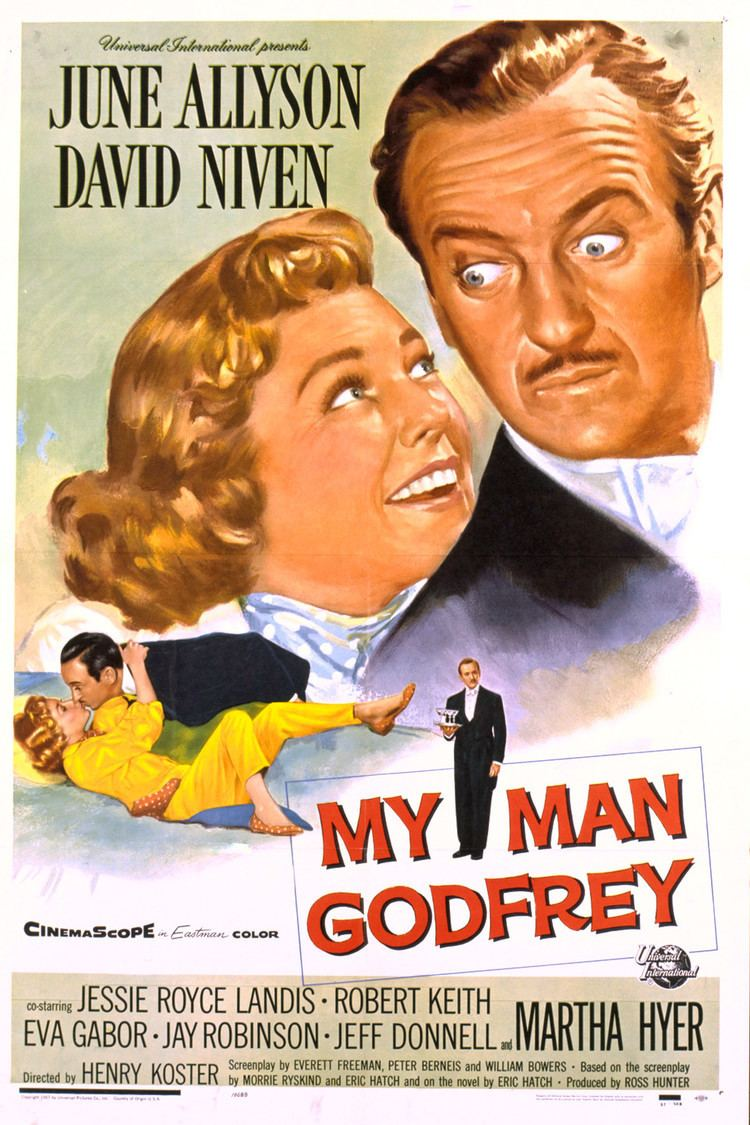 My Man Godfrey (1957 film) wwwgstaticcomtvthumbmovieposters3483p3483p
