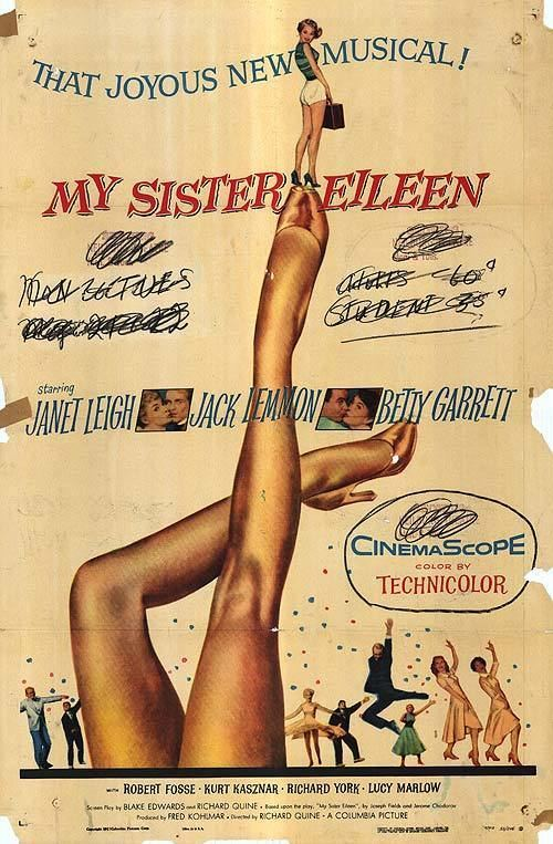 My Sister Eileen (1955 film) My Sister Eileen movie posters at movie poster warehouse moviepostercom