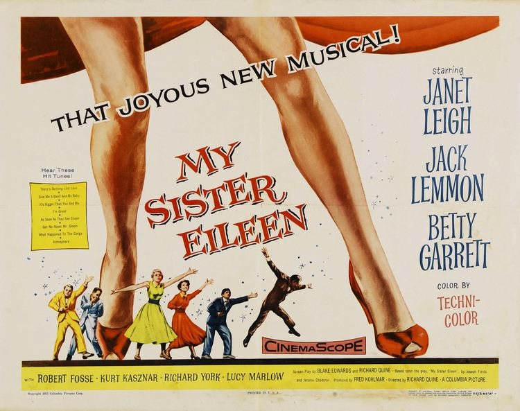 My Sister Eileen (1955 film) My Sister Eileen 1955 The Motion Pictures