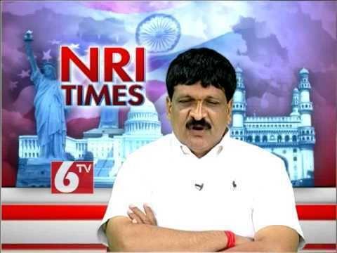 Mynampally Hanmanth Rao NRI Times With Malkajgiri TRS MP Candidate Mynampally Hanumantha