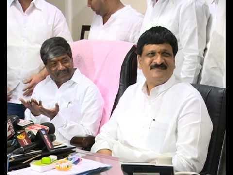 Mynampally Hanmanth Rao trs leader padmarao with mynampally hanumantharao YouTube