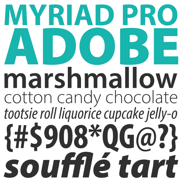 Myriad (typeface) - Alchetron, The Free Social Encyclopedia