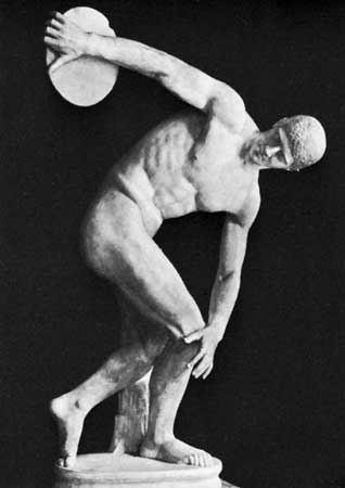 Myron Myron Greek sculptor Britannicacom