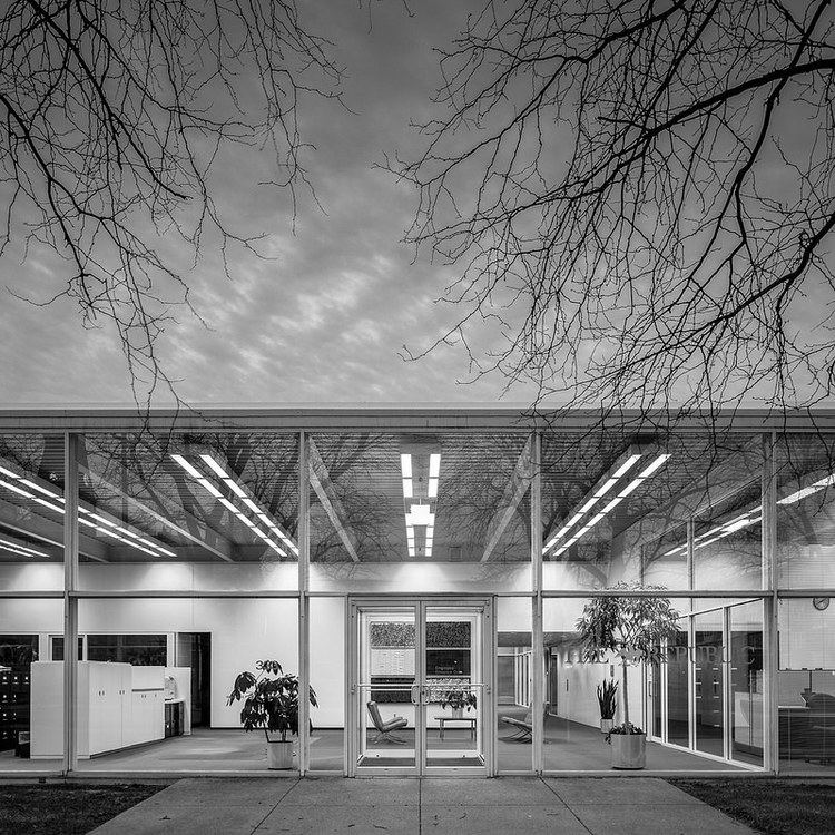 Myron Goldsmith The Republic Newspaper Offices Architecture and Architects