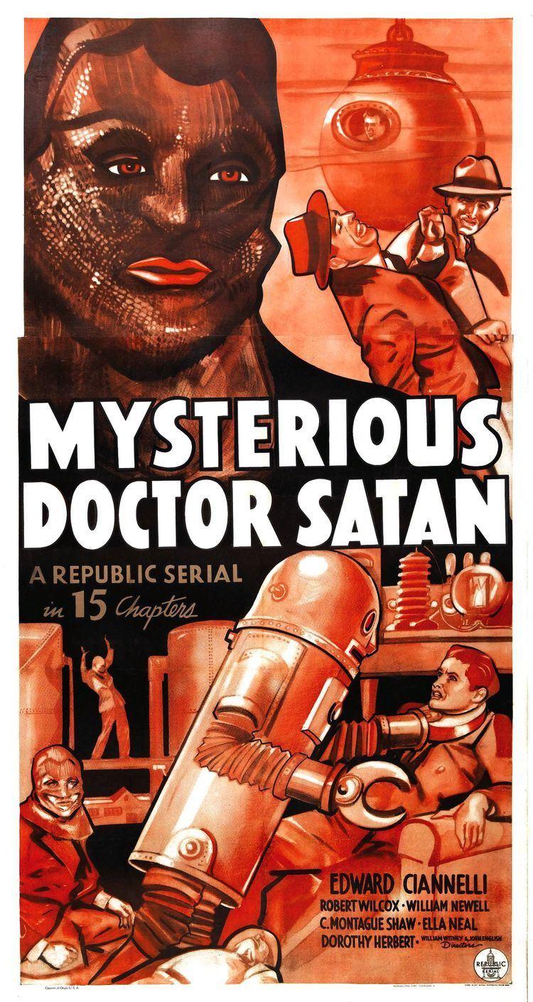 Mysterious Doctor Satan wwwthepulpnetthatspulpfiles201702posterjpg