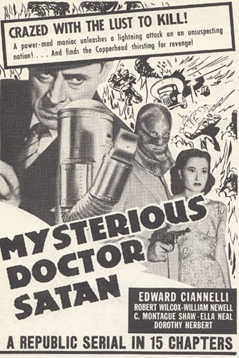 Mysterious Doctor Satan Mysterious Doctor Satan The Files of Jerry Blake