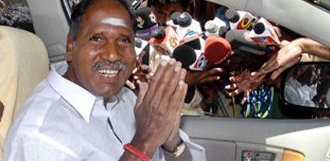 N. Rangaswamy Live Chennai Thank you says Pondi CM Thank you says