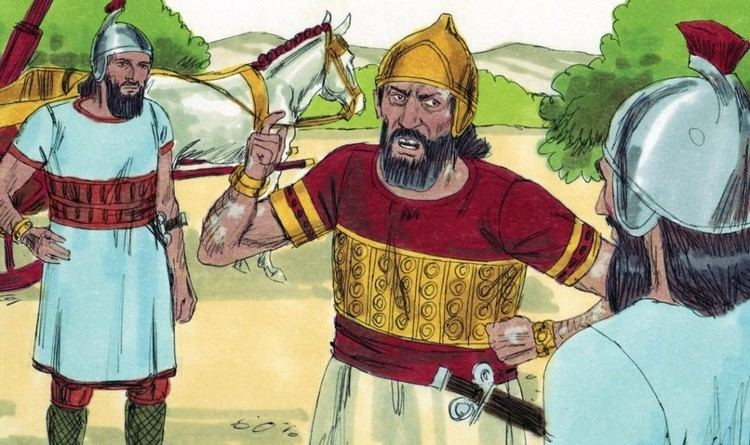 Naaman Bible Lesson Elisha and Naaman