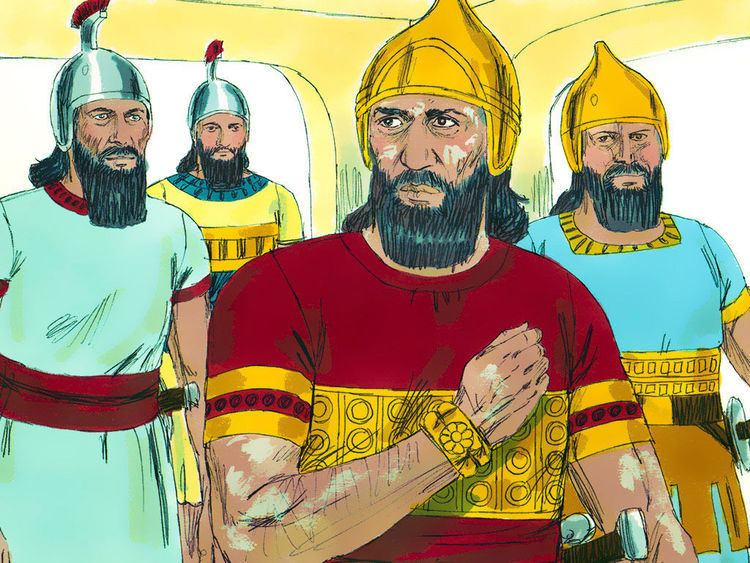 Naaman Free Bible images Naaman the army general of the king of
