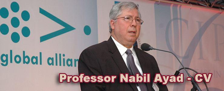 Nabil Ayad Professor Nabil Ayad PhD Innovations