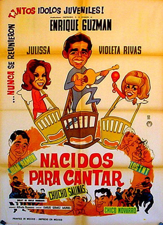 Nacidos para cantar NACIDOS PARA CANTAR MOVIE POSTER NACIDOS PARA CANTAR MOVIE POSTER