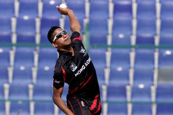 Hong Kongs Nadeem Ahmed in the list of history makers Cricket