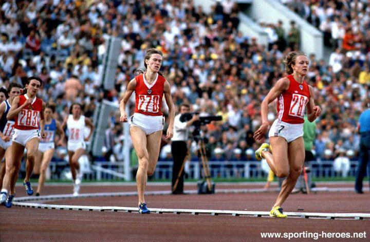 Nadezhda Olizarenko Nadezhda OLIZARENKO 1980 Olympic Games 800m gold medal USSR