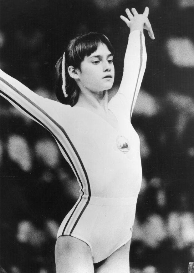 Nadia Comăneci Nadia Comaneci Athlete Gymnast Biographycom