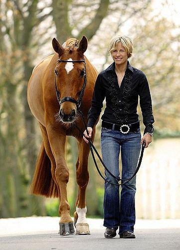 Nadine Capellmann Nadine Capellmann Gold Medal German Dressage Rider
