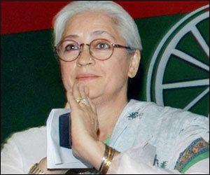 Nafisa Ali Nafisa Ali confident of success in LS polls Indian Express