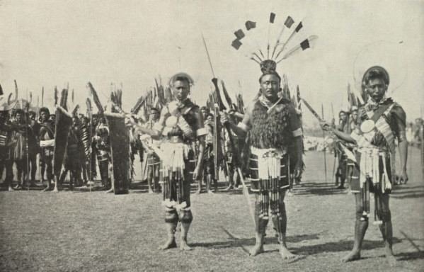 Nagaland in the past, History of Nagaland
