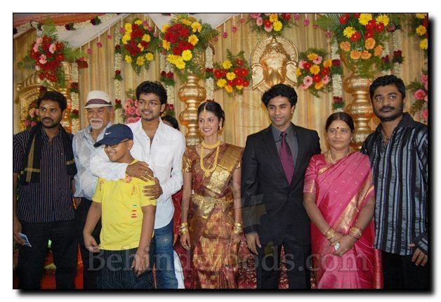 Nagendra Prasad NAGENDRA PRASAD MARRIAGE PRABHU DEVA RAJU SUNDARAM RAJINI