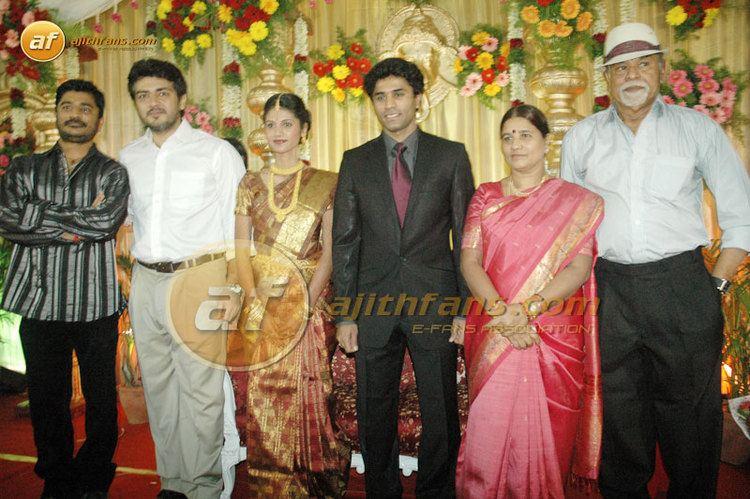 Nagendra Prasad Actor and Director Prabu Deva Brother Nagendra Prasad weds Hemalatha