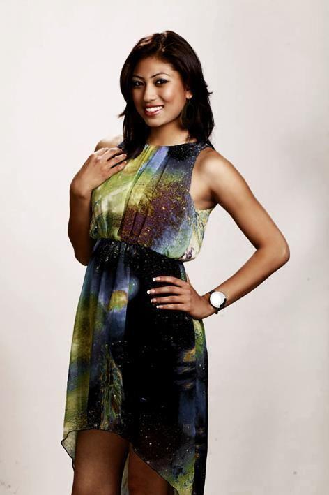 Nagma Shrestha 4 Miss Nepal 2012 Participant Nagma Shrestha Nepali Blogger