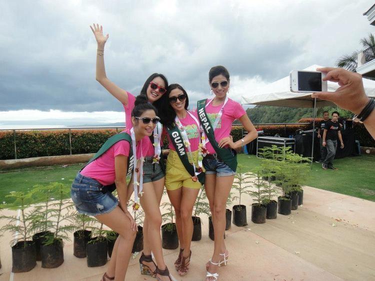 Nagma Shrestha Nagma Shrestha Journey in Miss Earth 2012 Nepali Blogger
