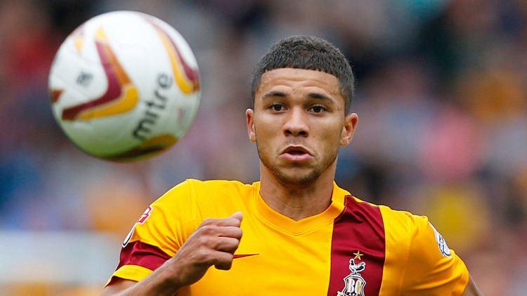 Nahki Wells Transfer news Bradford City reject bid for striker Nahki