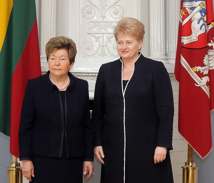 Naina Yeltsina Presentation of state decoration awarded post mortem to