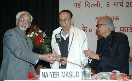 Naiyer Masud Naiyer Masud and the Magic of the Absurd Indian Cultural Forum