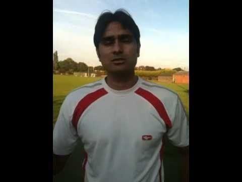 Najaf Shah bowling practice YouTube