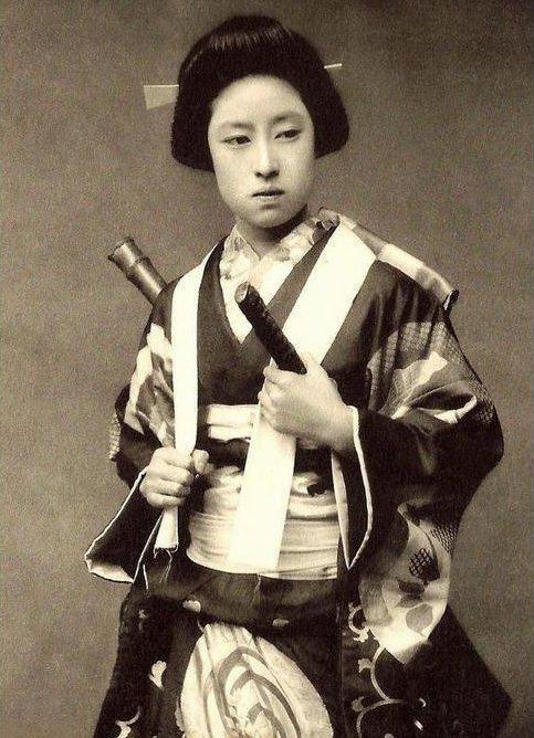Nakano Takeko Infernal Season Nakano Takeko 18471868 Onna