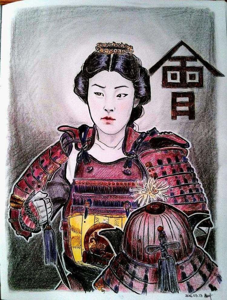 Nakano Takeko Nakano Takeko Art Amino