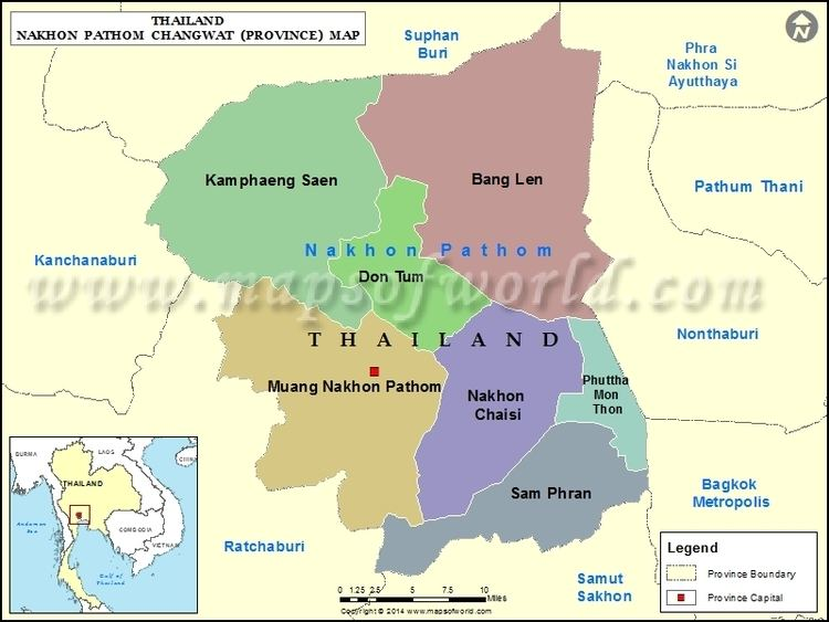 Nakhon Pathom Province in the past, History of Nakhon Pathom Province