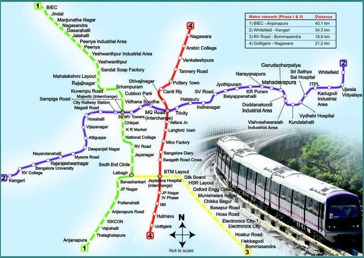 Namma Metro Namma Metro Bengaluru completes 5 yrs of operation has 234 phases