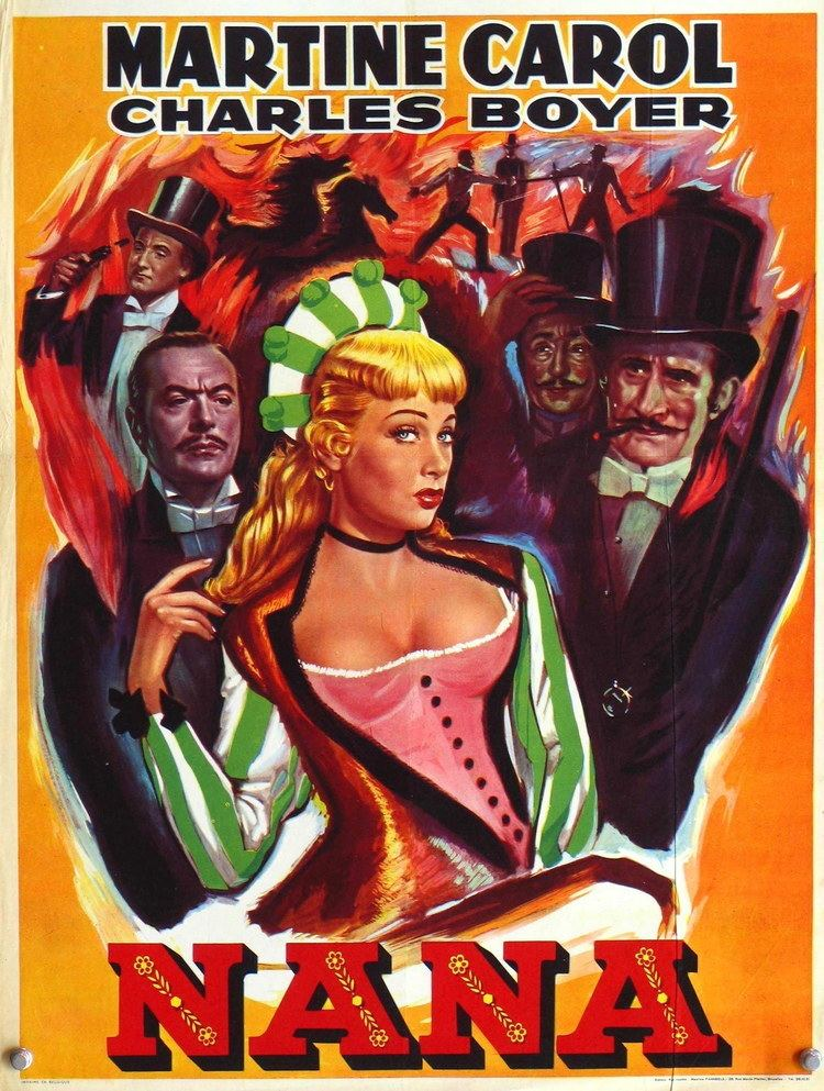 Nana (1955 film) Nana 1955 Stars Charles Boyer Martine Carol Walter Chiari