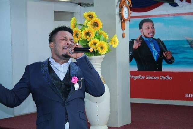 Nana Poku End Times Ghanaian pastor claims to heal woman by kissing her