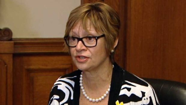 Nancy Allan NDP MLA Nancy Allan wont seek reelection in 2016 Manitoba CBC News