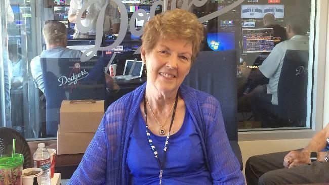 Nancy Bea Dodgers Nation Wishes Nancy Bea Hefley A Happy Birthday