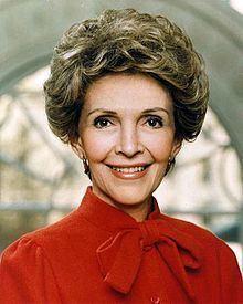 Nancy Reagan httpsuploadwikimediaorgwikipediacommonsthu