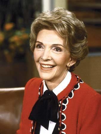 Nancy Reagan Nancy Reagan American first lady Britannicacom