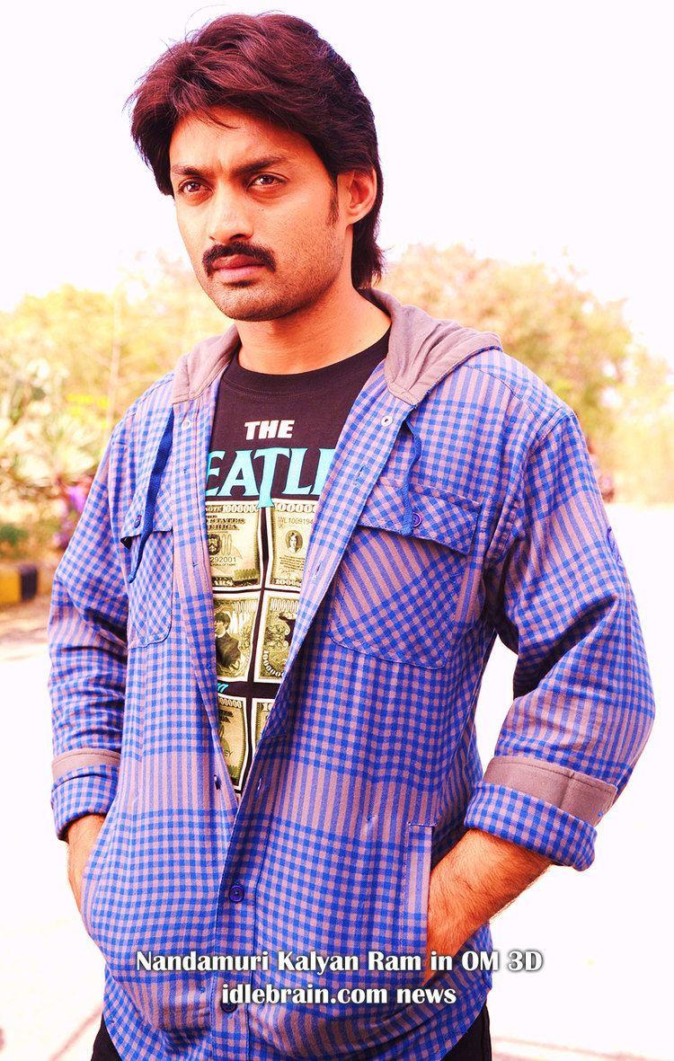 Nandamuri Kalyan Ram Nandamuri Kalyan Ram in Om 3D film Telugu cinema news