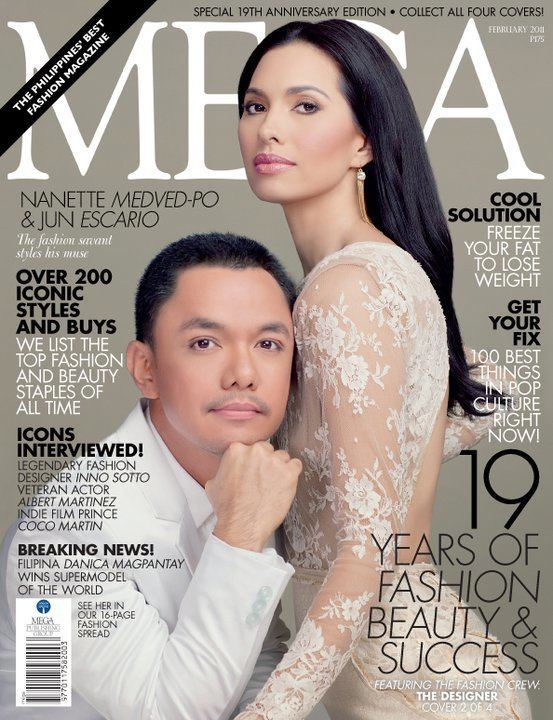 Nanette Medved FASHION MEDIA PH Nanette MedvedPo graces Mega Magazine39s