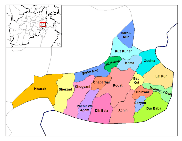 Nangarhar Province in the past, History of Nangarhar Province