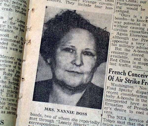 Nannie Doss Nannie Doss Got Away With Killing 11 Family Members